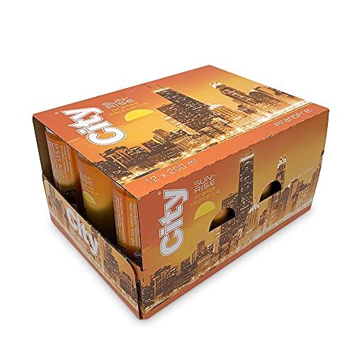 12 x City Sunrise Orange Frizzante 5,5% Vol / 200ml