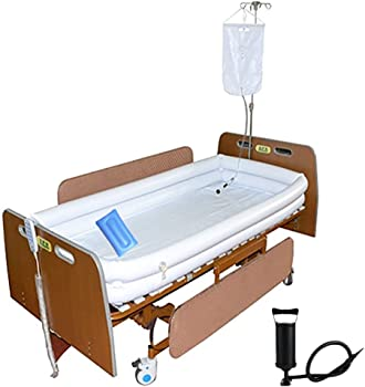 MESINURS Medical Inflatable Shower System Portable Bathtub