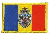 Aufnäher Patch Flagge Rumänien Bukarest - 8 x 6 cm