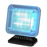 tiiwee Simulador de TV - 12 LED TV Falsa - Completo con el Adaptador de Red - Sensor de luz y Temporizador - Proteccion antirrobo