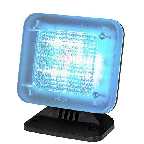 tiiwee LED TV Simulator mit 12 LED's und 3 wählbaren Programmen - Komplett mit Netzadapter - Lichtsimulation zum Einsatz als Einbruchschutz -Fernsehsimulator - Fernseh-Atrappe - Fake TV