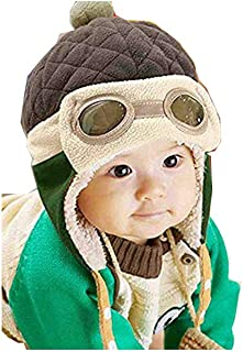 ❤️ Mealeaf ❤️ Toddler Hat Baby Boys Girls Infant Newborn Sun Protection Cotton Knit Winter Warm Kids Baseball Cap Beanie