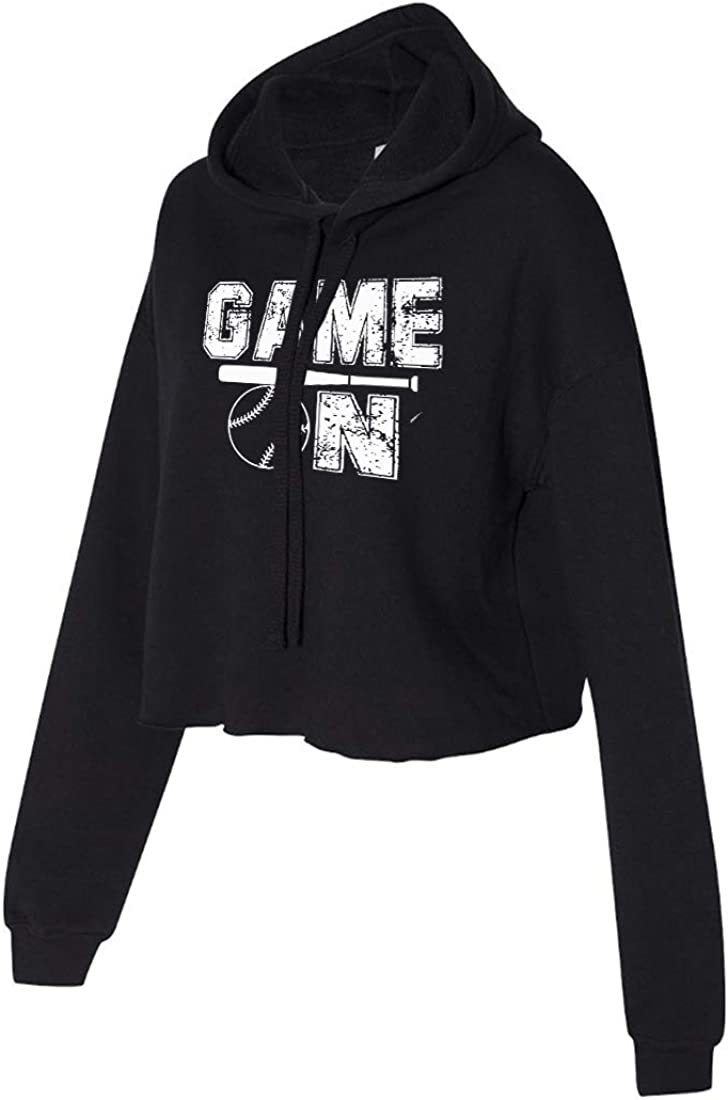 Softball Daily bargain sale Cropped Hoodie for Athletic ON Teen Selling and selling - Girl GAME