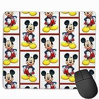 マウスパッド ミッキーマウス 防水 洗える 耐久性 滑り止め オフィス 高級感 おしゃれ かわいい 25x 30x 0.3cm