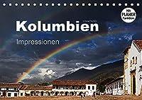 Kolumbien Impressionen (Tischkalender 2022 DIN A5 quer): Die Highlights Kolumbiens in beeindruckenden Bildern. (Geburtstagskalender, 14 Seiten )