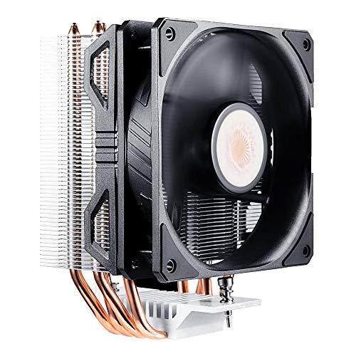 Cooler Master Hyper 212 EVO V2 CPU enfriador de aire con SickleFlow 120, ventilador PWM, tecnología de contacto directo, 4 tubos de calor de cobre para AMD Ryzen/Intel LGA1200/1151