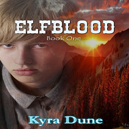 Elfblood audiobook cover art