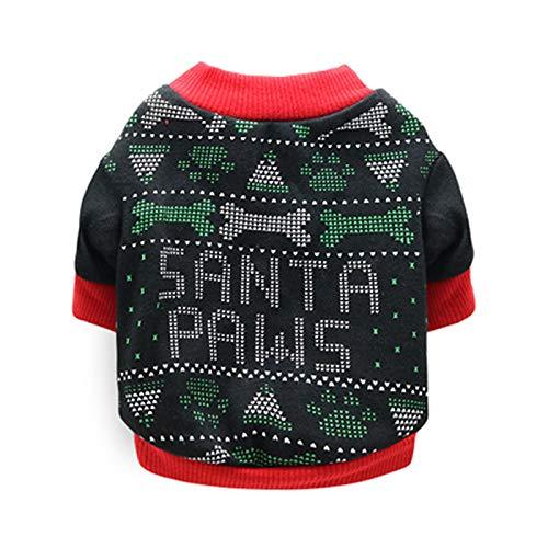 Ropa De Perro Abrigo Chaqueta Disfraz De Navidad para Mascotas, Ropa para Perros, Camisa para Perros, Bonita Ropa De Navidad para Perros, Disfraz De Cachorro Y Gatito para per