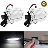 Hoypeyfiy 18-SMD Side Door LED Lights Xenon White for Lexus is ES GS LS RX GX LX...