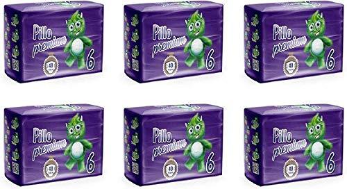 PILLO PREMIUM TAGLIA 6 XL 16/30 KG CARTONE 4 CONFEZIONI (160 pannolini)