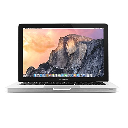 Apple MacBook Pro MD101LL/A 13.3-Inch Laptop (2.5GHz Intel Core i5 Dual-Core, 4GB RAM, 500GB HDD, Wi-Fi, Bluetooth 4.0) (Renewed)