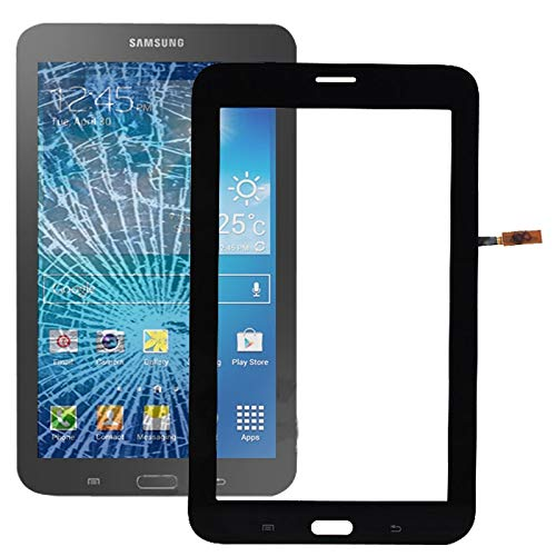 YUNSHUIVICC Touch Panel Digitizer for Galaxy Tab 3 Lite 7.0 / T111(Black) (Color : Black)
