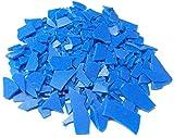 Freeman Injection Wax Flexible Blue Flakes Wax Jewelry Lost Wax Casting 1 Lb Bag