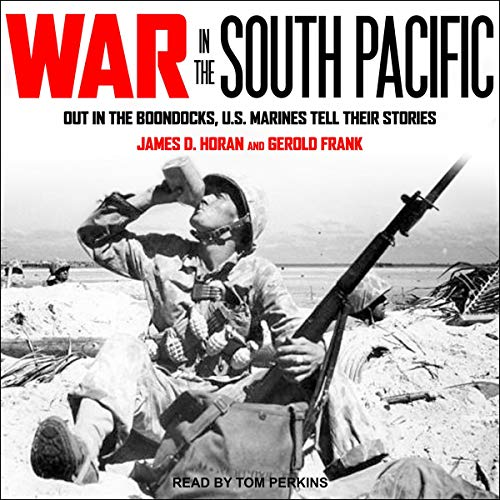 War in the South Pacific audiobook cover art