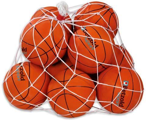 Betzold Sport Ball-Set Basketball Junior - Schulsport Basketbälle Basketballtraining Trainingsbälle Sportunterricht Schule Turnhalle Schüler Kinder Lernen Lehrer Sportlehrer