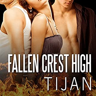 Fallen Crest High audiobook cover art