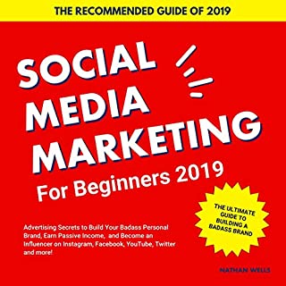 Social Media Marketing for Beginners 2019 cover art