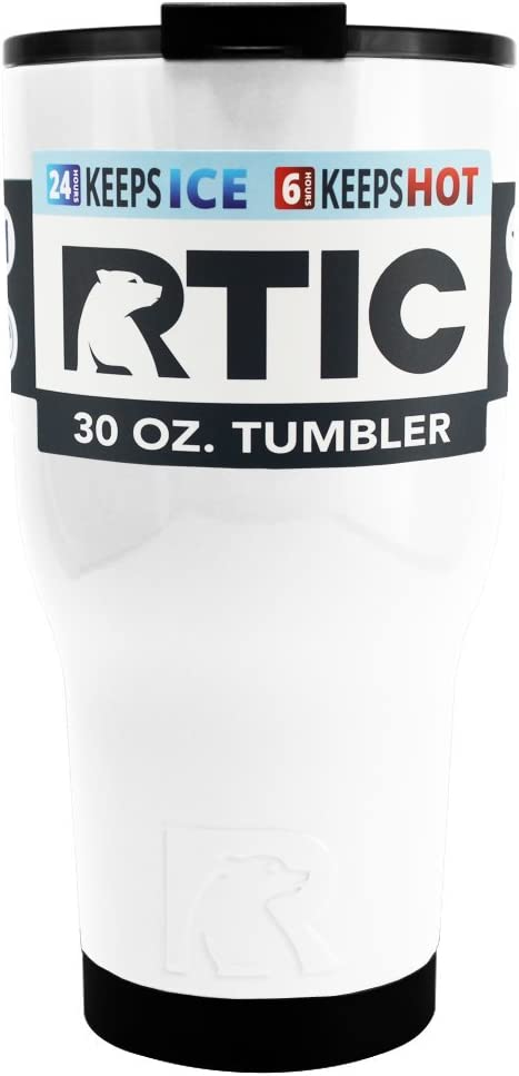 RTIC 30 oz. Thermal Tumbler Stainless Cup Coffee Mug Cold or Hot RTIC30TUMBLER
