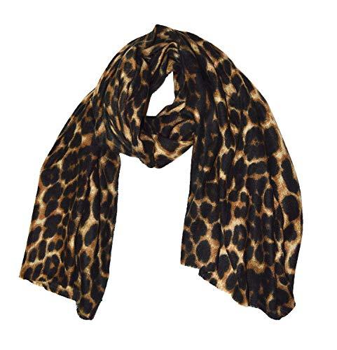 Luxury Textured Extra großer, super weicher Schal mit Leopardenmuster - Übergroßer Leopardenschal für Damen - Schal mit Animal-Print - Geschenke