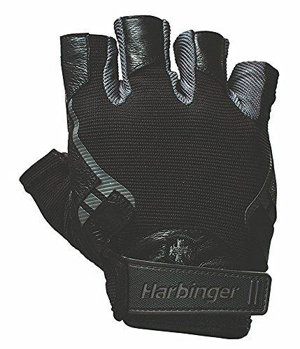 Harbinger Pro トレーニンググローブ Vented Cushioned Leather Palm (XL(手の平周り約21.6~24cm)) [並行輸入品]