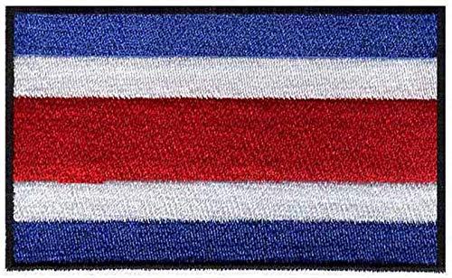 Astonish Parches Bandera Costa Rica Bordados