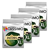 Tassimo Jacobs Krönung XL, Arabica, Capsule Caffè, Caffè Tostato Macinato, Pacco da 4, 4 x 16 T-Discs