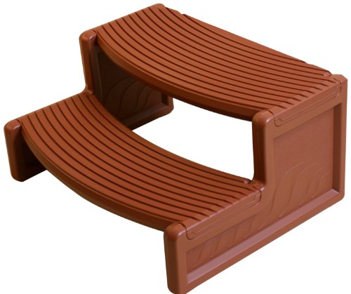 Confer Handi-Step Hot Tub Steps for Round and Straight-Sided Spas