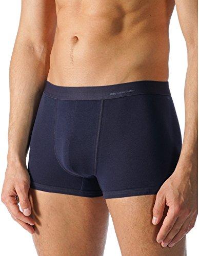 Mey Basics Serie Casual Cotton Herren Shorties Blau 6