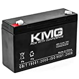 KMG 6V 10Ah Replacement Battery Compatible with Tripp-Lite SMX500RT1U TE300 TE600