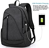 ibagbar Water Resistant Laptop Backpack with USB Charging...