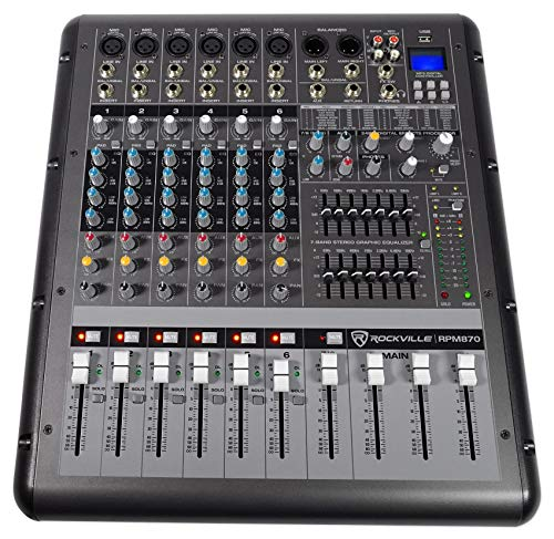Best Channel Powered Mixers