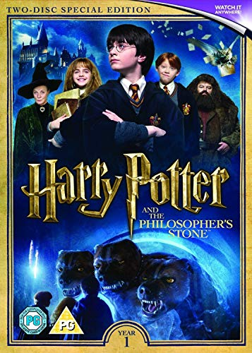 Harry Potter and the Philosopher's Stone (2016 Edition) [DVD] UK-Import, Sprache-Englisch