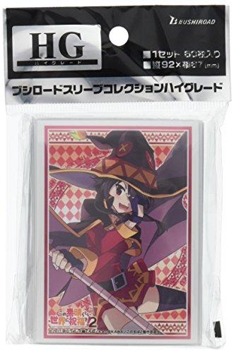 Bushiroad Konosuba Subarashi Megumin Trading Card Game Character Sleeve Anime Vol.1424 image