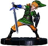- Figurine Legend of Zelda Skyward Sword - Link in Action- Matière PVC- Vendu sous window box-
