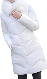 Women's Thickened Down Jackets Hooded Long Down Jacket Winter Outwear Puffer Coat