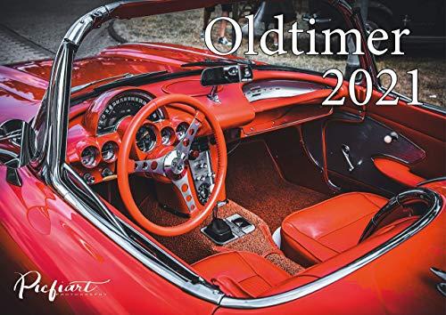 Wandkalender Oldtimer 2021 A4, Fotokalender - Fotokalender - Autokalender
