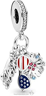Best american flag charm for pandora Reviews