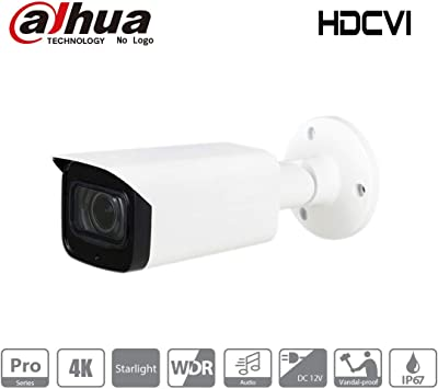 Dahua HAC-HFW2802T-Z-A 4K Starlight HDCVI IR Bullet Camera Local Support, NO LOGO