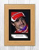 Engravia Digital Fernando Alonso (1) Poster Signed