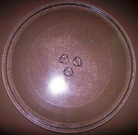 Mikrowelle Drehteller UNI DU = 305mm / 30.5 cm/Mikrowellenteller/Glasteller für Mikrowelle/Ersatzteller/Ersatz-Drehteller