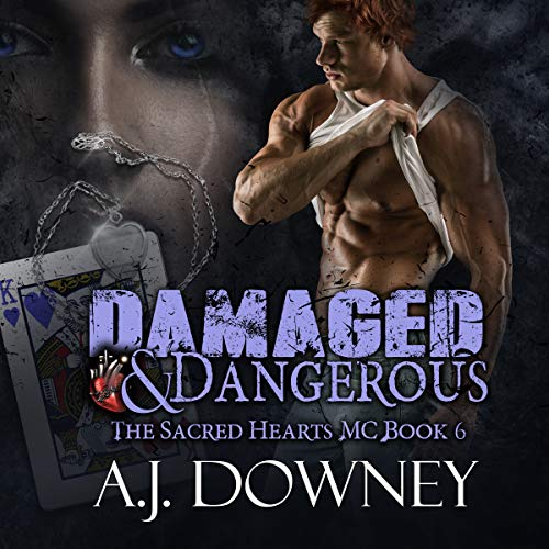 Damaged & Dangerous audiobook cover art