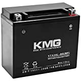 KMG Battery Compatible with Kawasaki Jet Ski 1200 JH1200 B Ultra 150 1999-2005 YTX20L-BS Sealed Maintenance Free Battery High Performance 12V SMF OEM Replacement Powersport