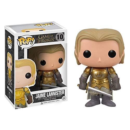 MMZ HBO: Juego de Tronos - Jaime Lannister en Caja Adornos Juego De Tronos Regalos Figura Coleccionable 10CM