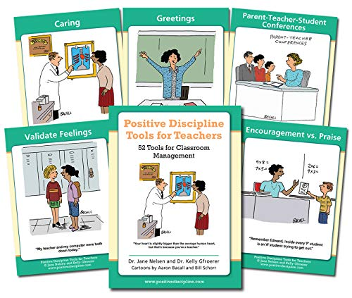 Positive Discipline Tools for Teachers Cards