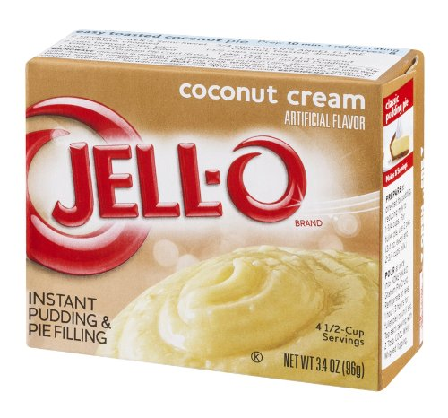 Coconut Cream, Instant Pudding & Pie Filling, 3.4 oz