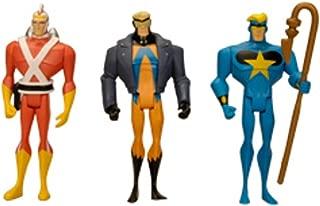DC Universe Exclusive Justice League Unlimited Fan Collection Action Figure 3Pack Adam Strange, Animal Man Star Man