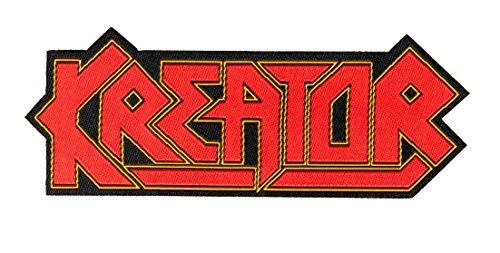 Kreator Logo Cut Out Aufnäher Kreator Patch - Gewebt & Lizenziert !!