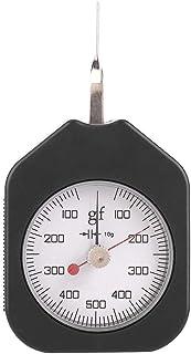 Medidor de tensión: medidor de tensión Multifuncional y Duradero de Doble Puntero, medidor de tensión, medidor de presión de tracción, medidor SZG-500-2