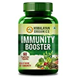 Himalayan Organics Immunity Booster Supplement for Daily Boost- 60 veg Capsules