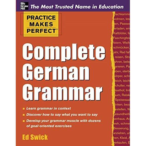 German Grammar: Amazon com